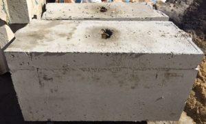 Large Concrete Block 1200 x 1200 x 600mm