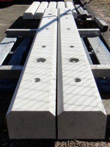 1700mm long, 100mm high, 150mm bottom, 130mm top (meets Australian Standards)
